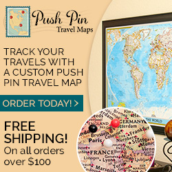 Push Pin Travel Maps