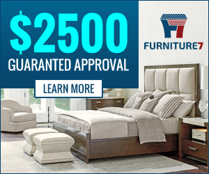 Furniture on credit, finance, lease