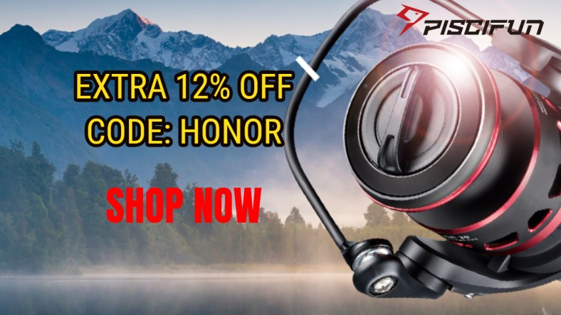 Piscifun Honor Clearance Sale! Smooth and durable!