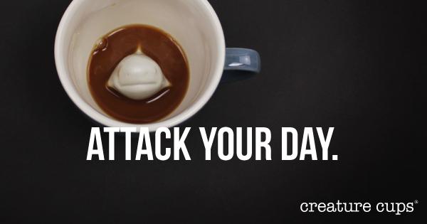 Creature cups' shark cup is fierce!