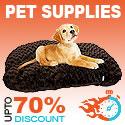 Pet Supplies Upto 70% Off - FlashSpree.com