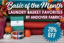 Fat Quarter Shop Basic of the Month Sale
