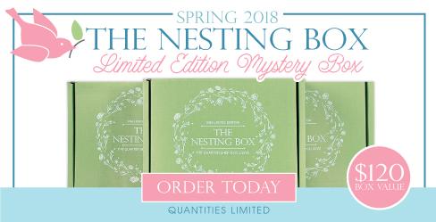 Nesting Box Mystery Quilting Box