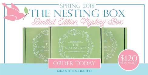 Nesting Box Mystery Quilting Box