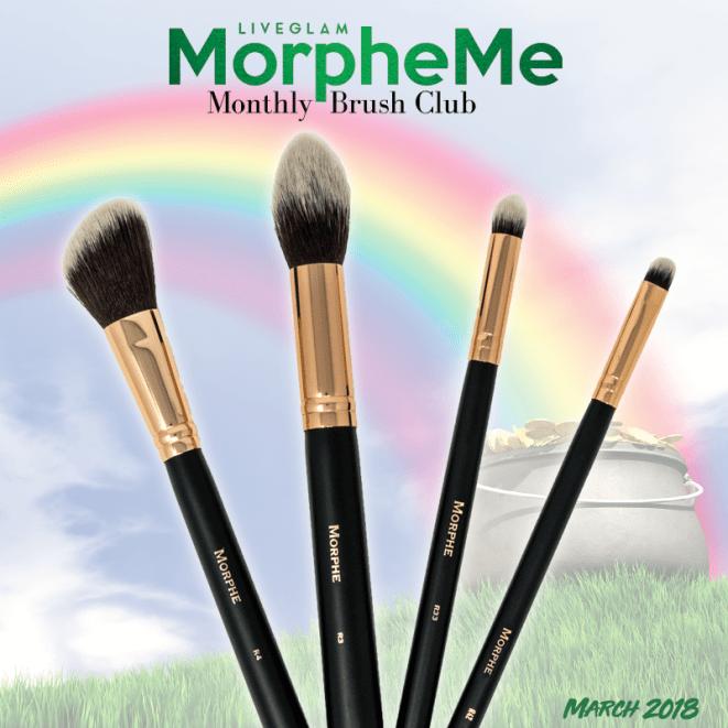 LiveGlam MorpheMe March 2018 Brush Collection