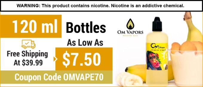 """""""Breathe Easy"""" Affordable, Premium, WTA E Liquid, USP E liquid, Lab tested"""