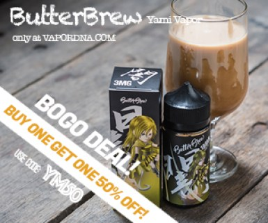 Picture of Butter Brew Vaping E-Liquid