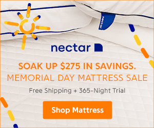 Nectar Memorial Day Sale