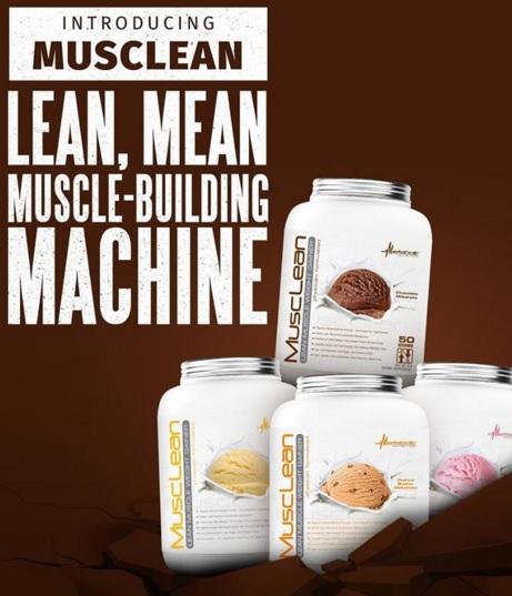 Musclean Banner