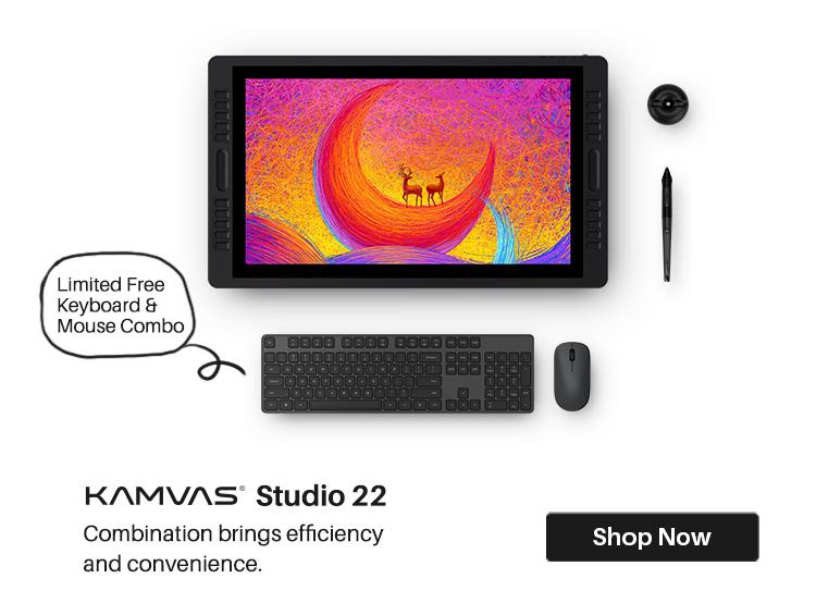 Huion Kamvas Studio 22 All-in-One Drawing Computer