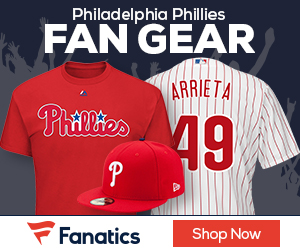 Shop Philadelphia Phillies gear at Fanatics.com!
