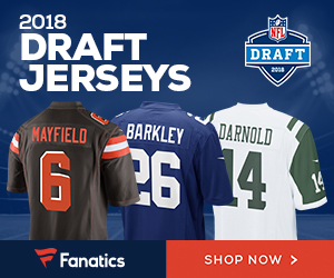 Shop for 2018 NFL Draft Gear at Fanatics.com