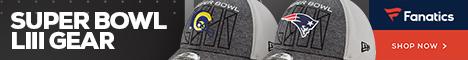 Shop for Super Bowl LIII Gear at Fanatics.com