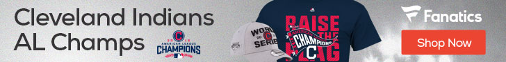 Cleveland Indians 2016 AL Champs