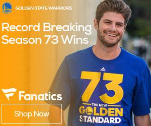 Golden State Warriors 73 Wins Gear
