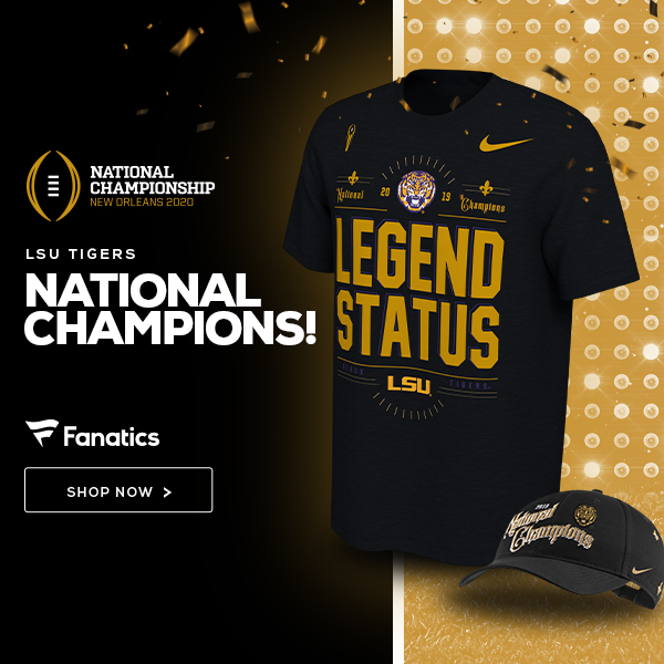 Shop for LSU Tigers Champ Gear
