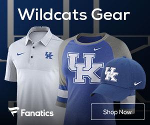 Kentucky Wildcats gear at Fanatics.com