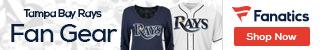 Tampa Bay Rays gear at Fanatics.com