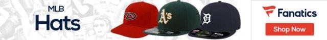 MLB hats at Fanatics.com