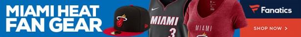 Shop Miami Heat Gear at Fanatics.com