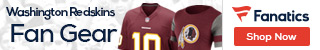Shop for Washington Redskins gear at Fanatics.com