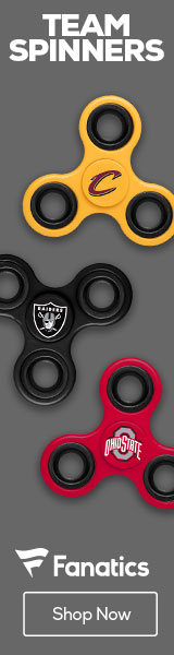 Shop for Team Logo Spinners at Fanatics.com