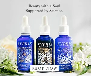 KYPRIS - Beauty with a Soul Supported  By Science