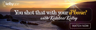 Kalebra Kelby new online training course. You Shot That with Your iPhone? iPhone photography course.