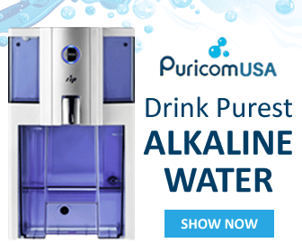 DRINK PUREST ALKALINE WATER