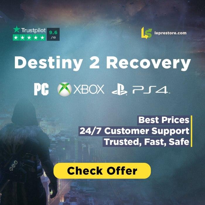 Desteiny 2 Recovery