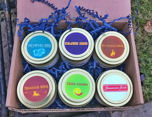BBQ Dry Rub Gift Set