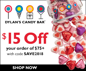 $15 Off $75+ with code SAVE2018 (ends 2/28)