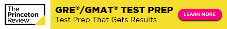 GRE Test Prep with The Princeton Review