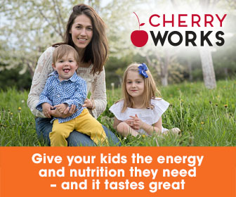 Kids CherryWorks with Apple tastes great and support immunity health
