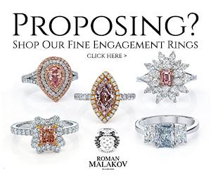 proposing? shop fine engagement rings at roman malakov