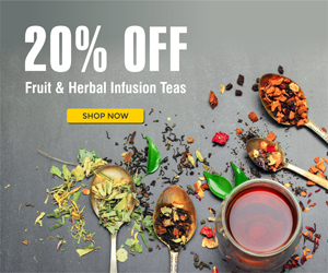 Fruit and herbal Teas