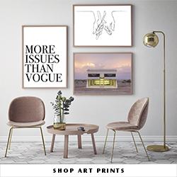 fashion gallery wall