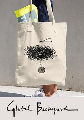 """Knit Happens"" Tote Bag"