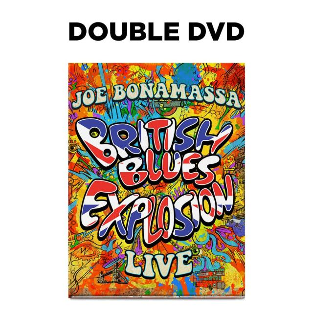 Joe Bonamassa: British Blues Explosion Live (DVD) (Released: 2018)