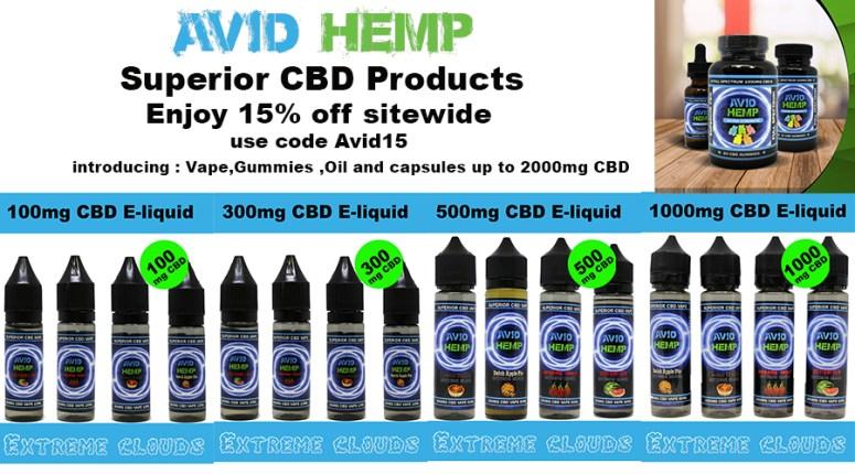 CBD E-liquid gummies