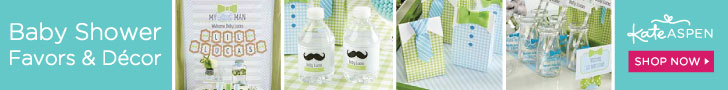 Kate Aspen - For All You Celebrate - Baby Shower Favors, Decor & More