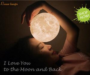 girlfriend gift ideas Original Moon Lamp