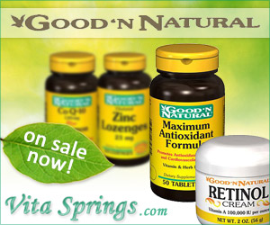 Good 'N Natural Health Supplements