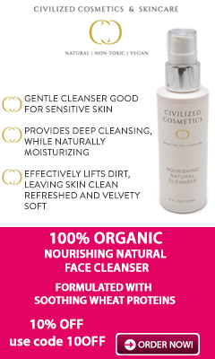 100% Organic Face Cleanser