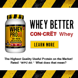THE HIGHEST GRADE WHEY PROTEIN ON THE MARKET