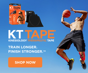 KT Tape | Kinesiology Therapeutic Tape | Train Longer. Finisher Stronger. | Shop Now