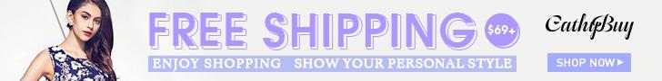 Cathybuy.com Free Shipping