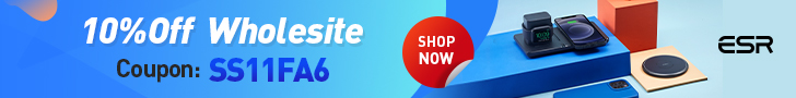 Buy any accessories at ESR, You can get 10%Off. Shop Now!