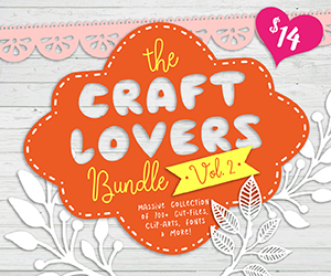 20% OFF The Craft Lovers Bundle Vol.2 | NOW $11.20