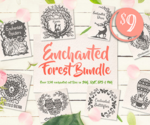 20% OFF The Enchanted Forest Bundle | ONLY $7.20